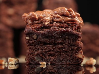 Receta de Irresistibles Brownies