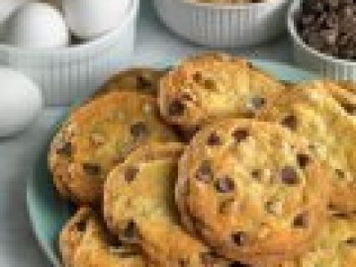 Receta de Galletas de Chips de Chocolate Suaves