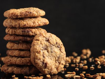 Receta de Ricas Galletas de Avena y Chocolate