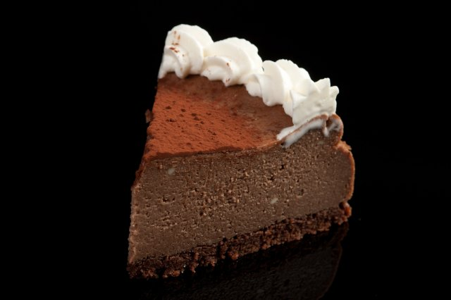 Sedoso Cheesecake de Chocolate Belga