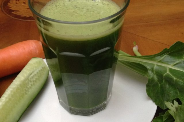 Green Spinach Juice