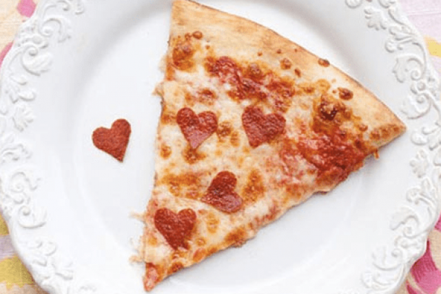 Pizza to fall in love