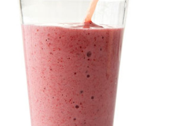 Strawberry and Soy Smoothie