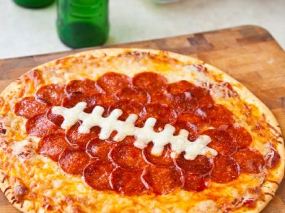 Receta de Pizza Superbowl