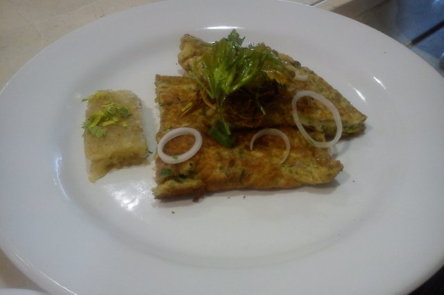 Omelette to the Fine Herbs