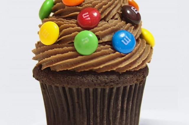 Cupcakes with M & M's