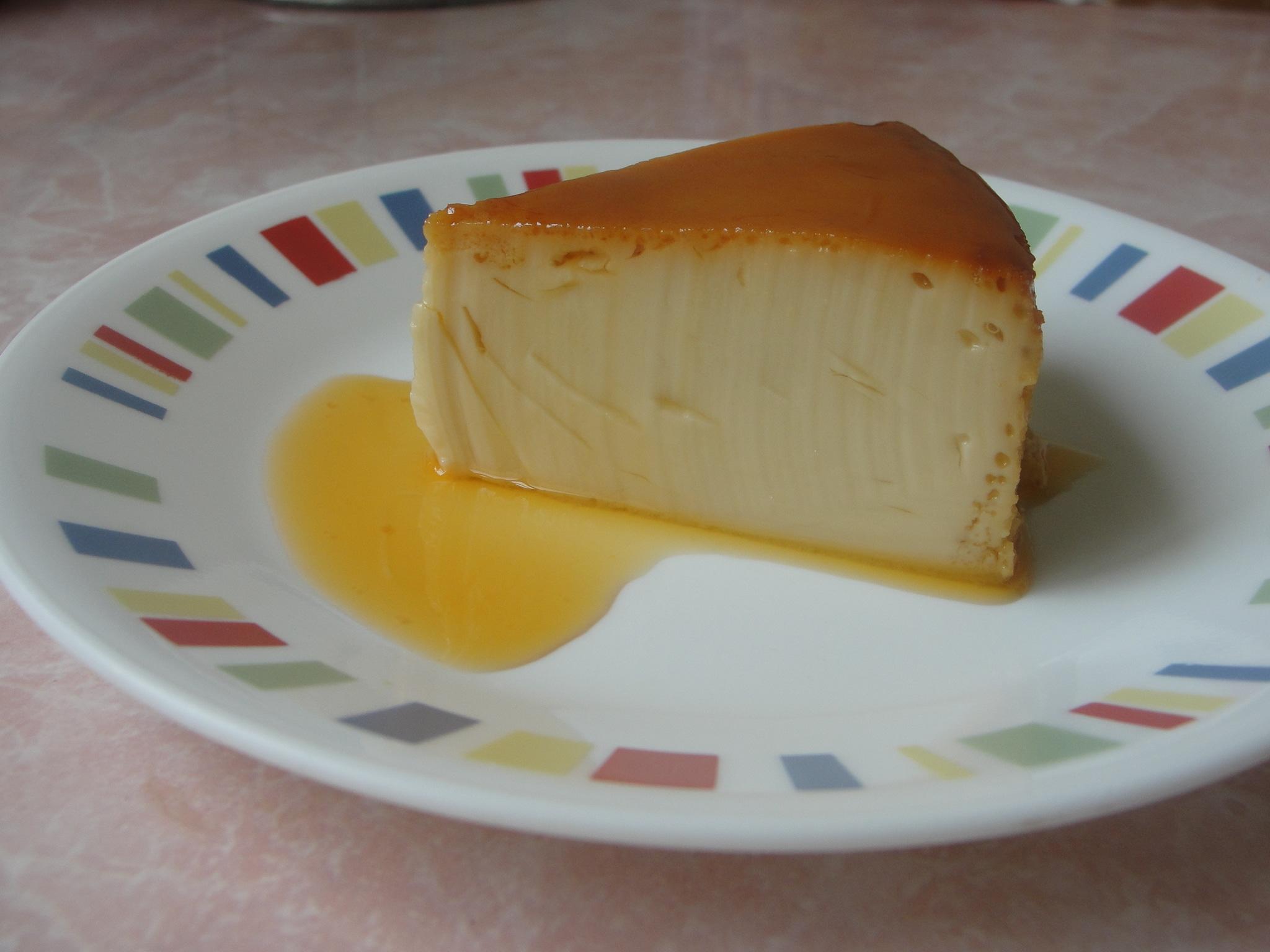 Imagenes De Queso Crema: Receta De Flan De Queso Crema