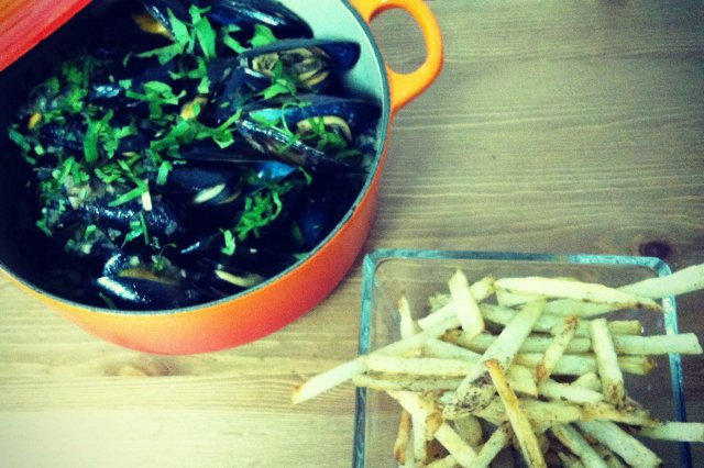 Mussels with Vermouth