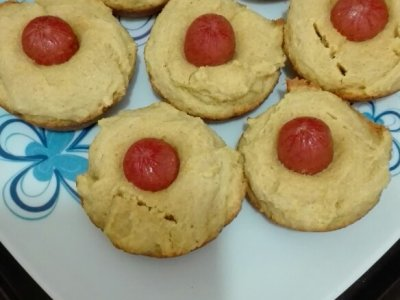 Receta de Muffins de Hot Dog