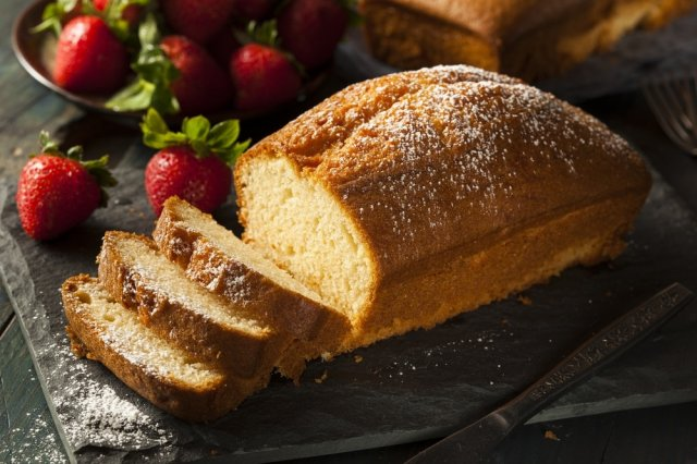 Pound Cake with Hotcake Flour