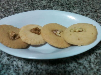 Receta de Galletitas Noisette