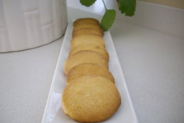 Biscuits with Lemon Cream