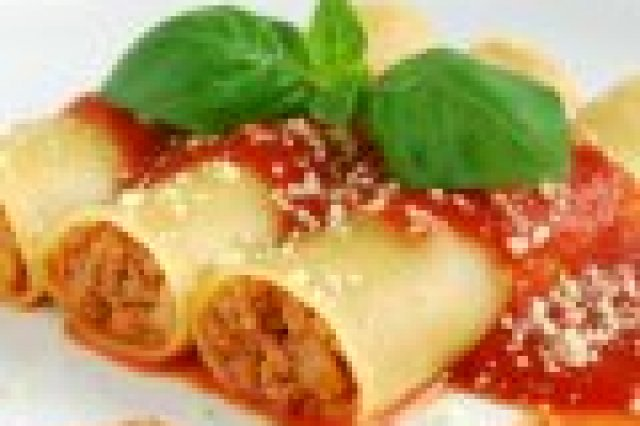 Pasta Stuffed with Ground Beef