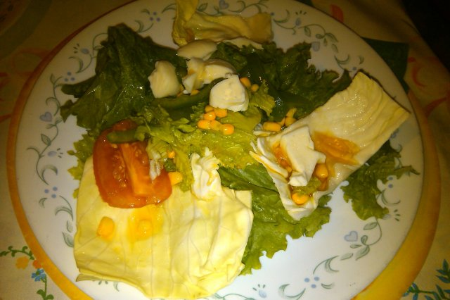 Salad of Cabbage and Lettuce