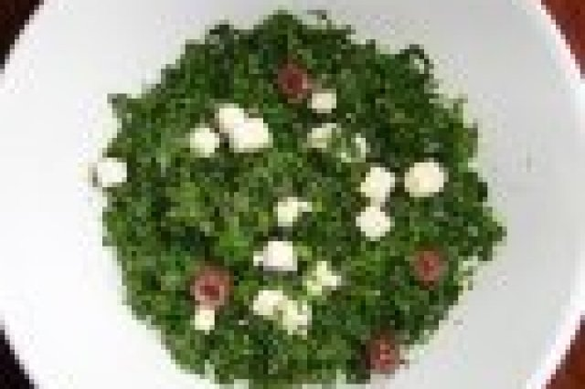 Green Salad of Parsley, Mint and Feta Cheese