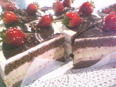 Torta Cheesecake Instant de Chocolate