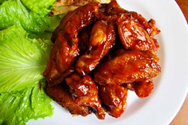 Seared Wings with Catsup