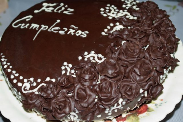 Torta Húmeda Mousse de Chocolate