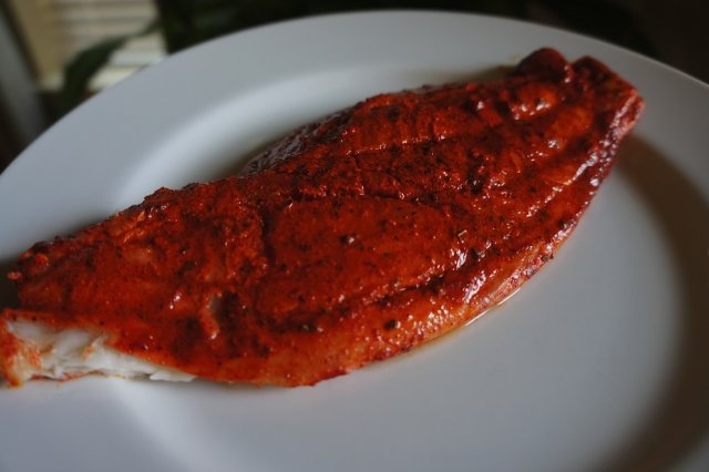 Grilled Fish with Annatto
