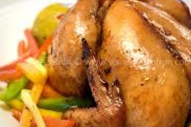 Stuffed Chicken For Christmas