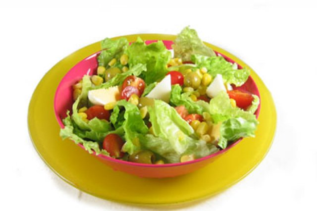 Traditional mixed salad