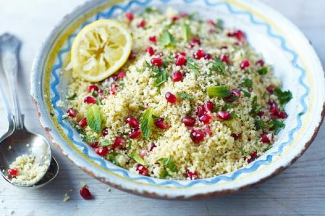 Fruit salad with Cuscus