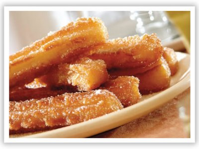 Receta de Homemade Churros