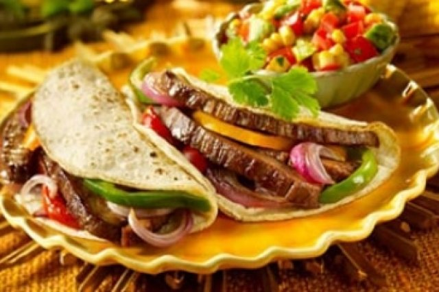 Meat Tacos with Corn Tortillas