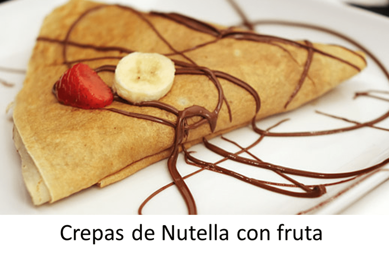Homemade Nutella Crepes