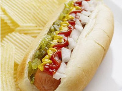 Receta de Hot Dog con Papas