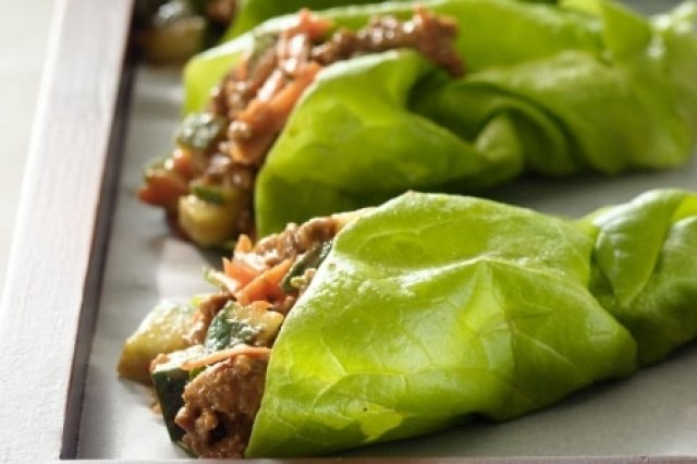 Lettuce Tacos with Chicken Breast