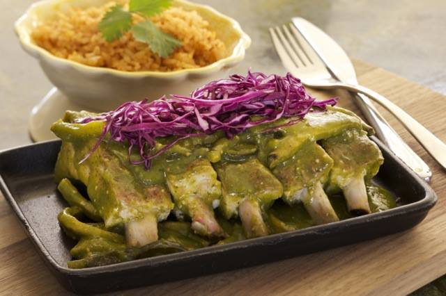 Ribs in Green Sauce