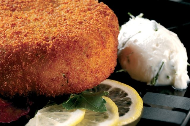 Salmon and Yogurt Croquettes