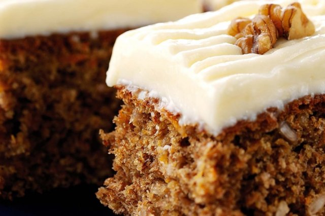 Carrot Cake with Yoghurt