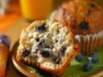 Muffins de Queso y Blueberry