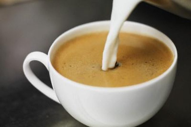 Coffee with milk