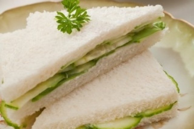 Cucumber and Chervil Sandwiches