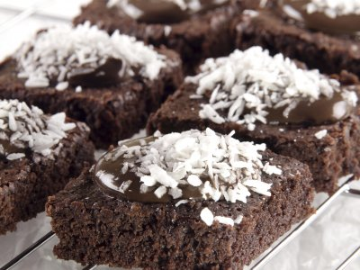 Brownies con Coco