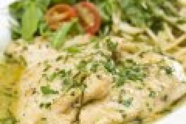 Chicken in Butter Sauce with Herbs