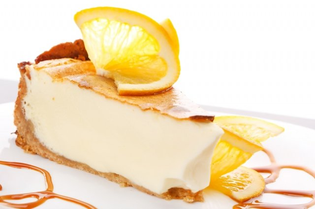 Orange Cheesecake with Ricotta