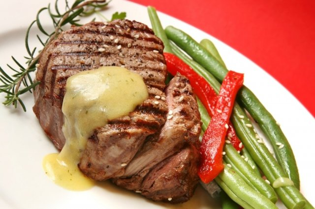 Mignon fillet with Bernese sauce