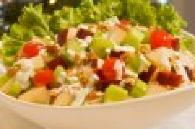 Apple, Nut and Cherries Salad