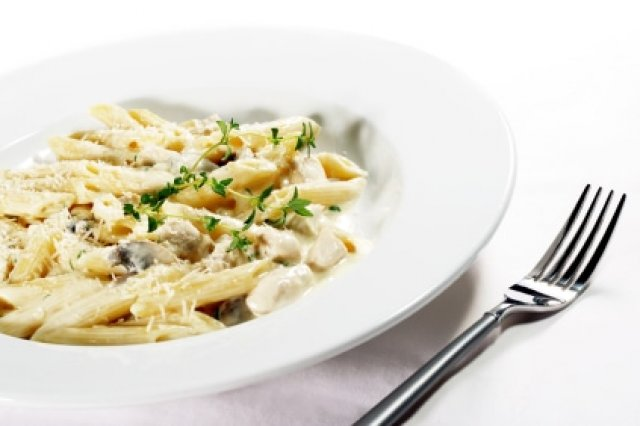 Penne with Morels and Mushrooms