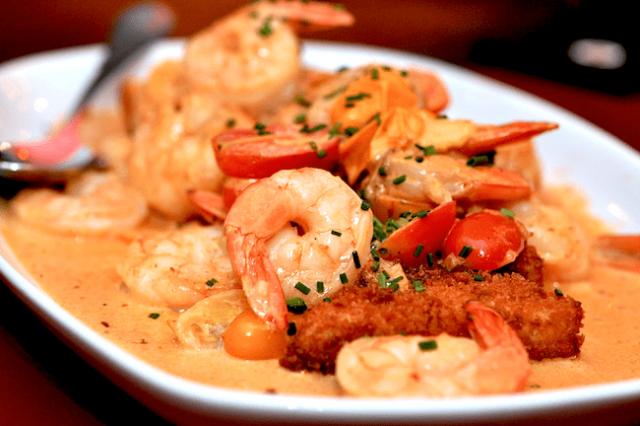 Shrimp with Spicy Mayonnaise
