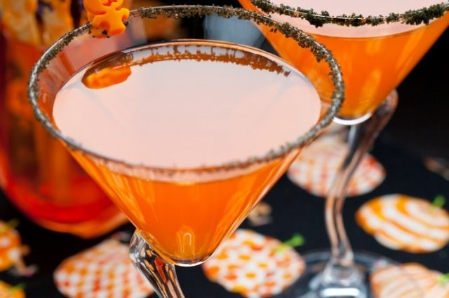 Bubbling Punch for Halloween