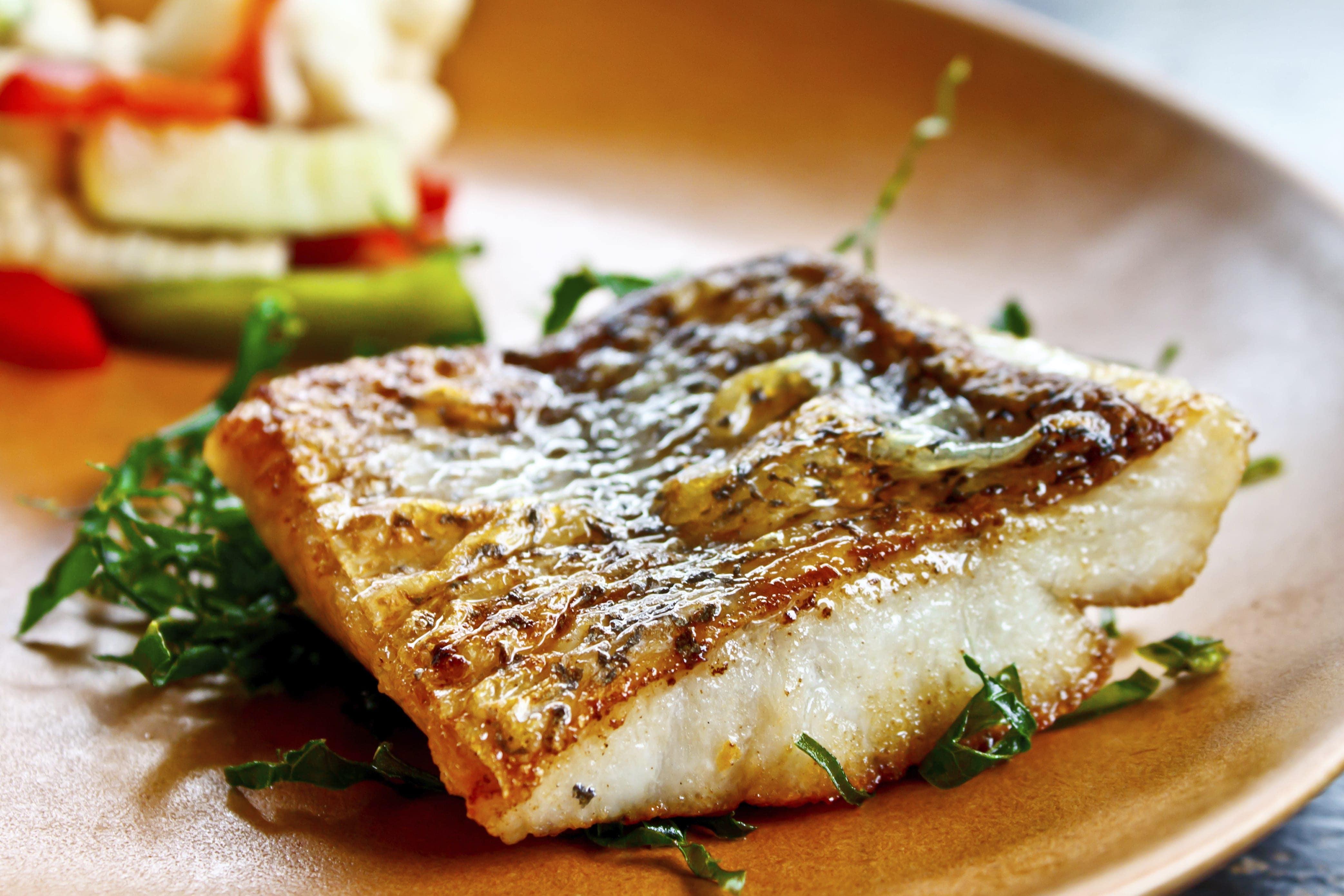 Receta de pescado al horno con verduras for Cocinar en frances