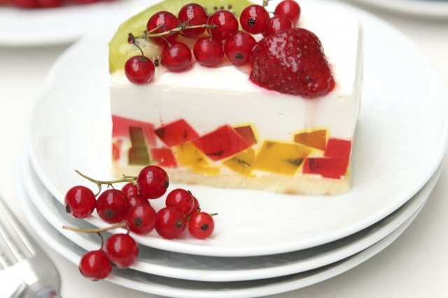 Mosaic Gelatin for Christmas