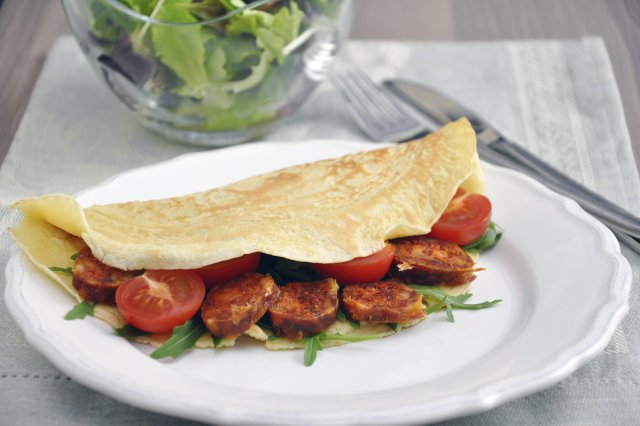 Quesadillas with Chorizo