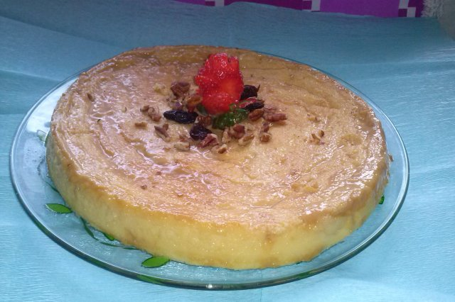 Delicious Napolitano Flan with Cream Cheese