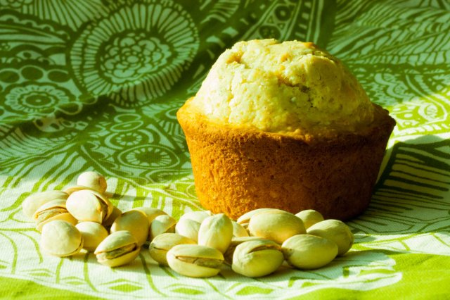 Pistache Muffins with Coco